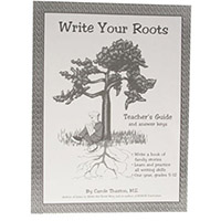 Write Your Roots Teacher's Guide