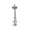 MetalEarth Space Needle