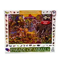 Parade of Animals Pieces of History Puzzle 300 Pc