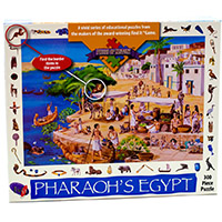 Pharaoh's Egypt Pieces of History Puzzle 300 Pc