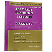 Easy Grammar Ultimate Grade 10 Teacher's Guide