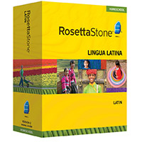 Rosetta Stone Version 3 Homeschool Edition Latin