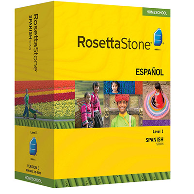 Rosetta Stone Version 3 Homeschool Edition Spanish (Spain)