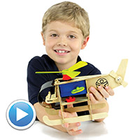 HABA Helicopter Assembly Kit
