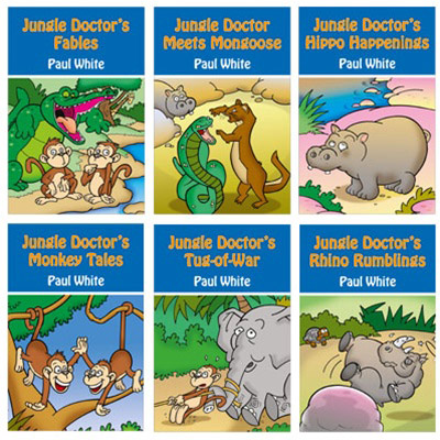 Jungle Doctors Animal Stories - Set of 6