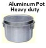 Aluminum Cooking pots 28""
