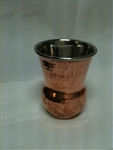 Copper and Steel Glass -12 Oz.