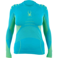 Spyder Women's Runner Seamless Baselayer Top