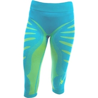 Spyder Women's Runner Seamless Baselayer Capri