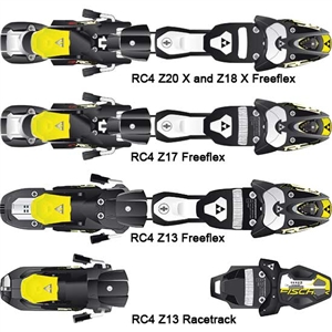 Fischer RC4 Race Binding