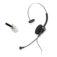 Chameleon 2107 Mono Telephone Headset for Direct Connect