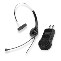 Chameleon 2332 ConvertibleTelephone Headset & ACD/PBX Two Prong Amplifier Combo