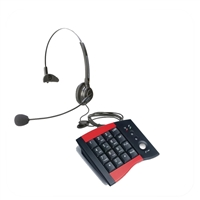 Eco Series Single Ear Noise Canceling Headset - w/ DA207 Telephone