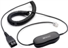 Jabra QD Smart Cord 7' Coiled