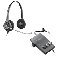 Plantronics HW261 SupraPlus Headset w/ Voice Tube - M22 Vista Amplifier Bundle