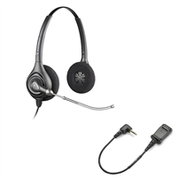 Plantronics HW261 SupraPlus Headset w/ Voice Tube - Cisco Cable - 2.5mm N1-QD Bundle