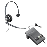 Plantronics HW710 EncorePro w/ Noise Canceling Mic - M22 Vista Amplifier Bundle