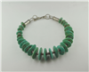 Campo Frio turquoise choler with handcrafted silver beads