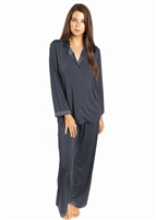 Love & Lustre Silk Trim Modal PJ Set