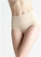 Light nude ultralight seamless high waist shaping brief
