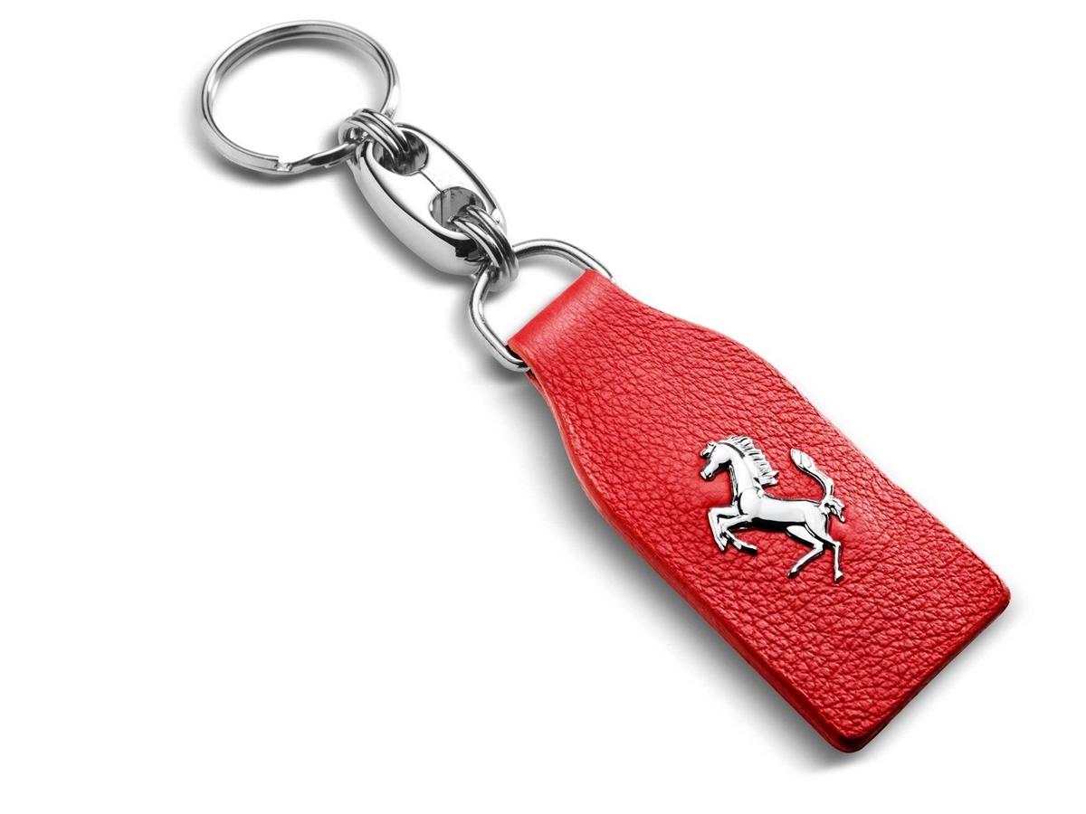 Ferrari 70003779 Red Ferrari Keychain