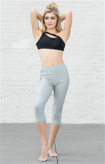 Capri Dance Pants (Shiny Lycra)