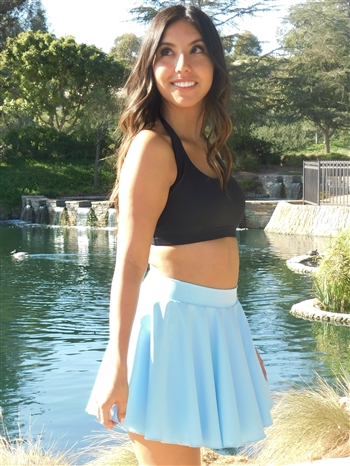 Circle Dance Skirt (Shiny Lycra)