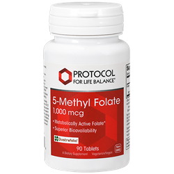 5-Methyl Folate 1,000 mcg