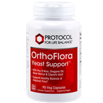 OrthoFlora Yeast Support 90 Veggie caps