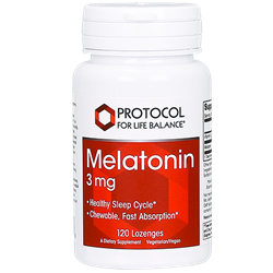 Melatonin 3mg lozenge with 3mg B-6