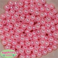 10mm Light Pink Faux Pearl Beads