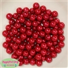 10mm Red Faux Pearl Beads