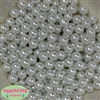 10mm White Faux Pearl Beads