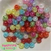 12mm Mixed Color Crackle Beads 100pc