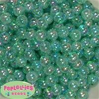 12mm Turquoise Crackle Beads