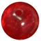 12mm Red Frost Bead