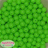 12mm Neon Lime Beads