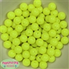 12mm Neon Yellow Beads