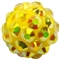 12mm Yellow Rhinestone Bead