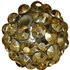 14mm Gold Metallic Rhinestone