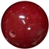 14mm Burgundy Solid Bead