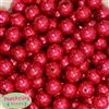 Bulk 16mm Red Faux Pearl Beads