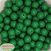 16mm Emerald Green Solid Beads