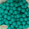 16mm Seafoam Solid Beads
