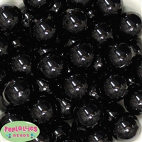 24mm Black Pearl 10 Beads