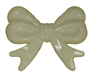 45mm Cream Bow