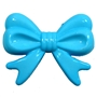 45mm Blue Bow