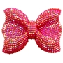 Large Red Bling Bow