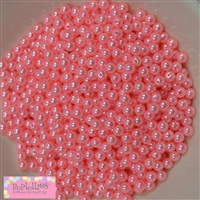 Shell Pink Pearl Spacer Beads 6mm
