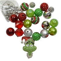Christmas Grinch Necklace DIY Kit